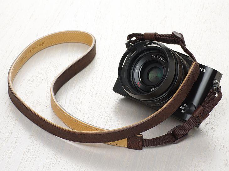 Leather Camera Strap [CLASSICO PP] - ULYSSES -photo life laboratories-