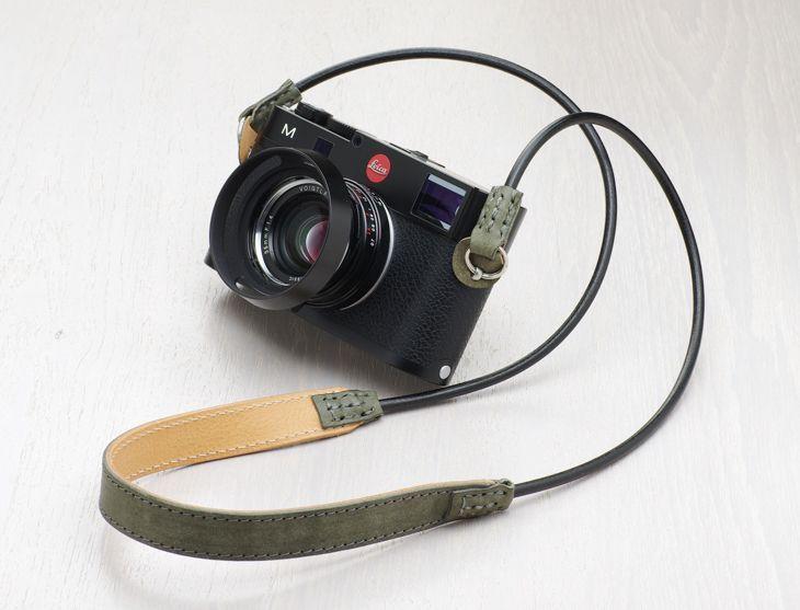 Leather Camera Strap [SLING SHOT] - ULYSSES -photo life laboratories-