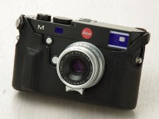 Photo4: Leather Camera Body Suit [for LEICA M/M-P Typ240,246,262] (4)