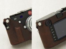 Photo2: Leather Camera Body Suit [for LEICA M/M-P Typ240,246,262] (2)