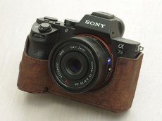Photo1: Leather Camera Body Suit [for SONY a7 II / a7R II / a7S II] (1)