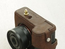 Photo4: Leather Camera Body Suit [for SONY a7 II / a7R II / a7S II] (4)