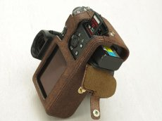Photo2: Leather Camera Body Suit [for SONY a7 II / a7R II / a7S II] (2)