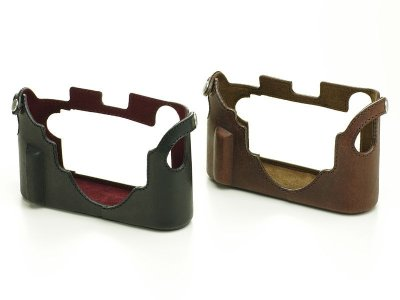 Photo3: Leather Camera Body Suit [for LEICA M/M-P Typ240,246,262]