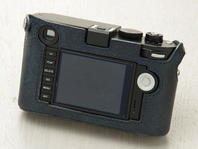 Photo1: Leather Camera Body Suit [for LEICA M/M-P Typ240,246,262]