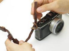 Photo3: Leather Camera Strap [CLASSICO] (3)
