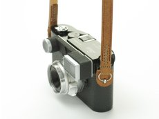 Photo4: Leather Camera Strap [CLASSICO DRITTO] (4)