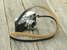 Photo2: Leather Camera Strap [CLASSICO DRITTO] (2)