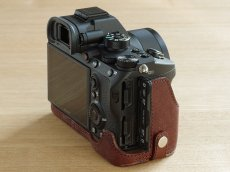 Photo5: Leather Camera Body Suit [for SONY a7 III / a7R III / a9] (5)