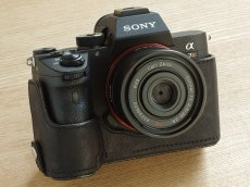 Photo3: Leather Camera Body Suit [for SONY a7 III / a7R III / a9] (3)