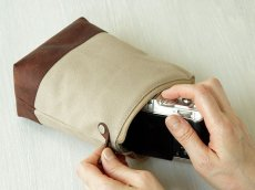 Photo4: Camera Pouch [Cella] (4)