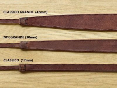 Photo1: Leather Strap [ 70% GRANDE ]