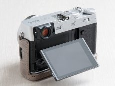 Photo3: Leather Camera Body Suit [for FUJIFILM X100V] (3)
