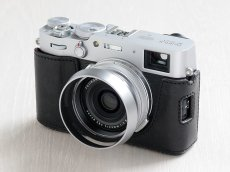 Photo6: Leather Camera Body Suit [for FUJIFILM X100V] (6)