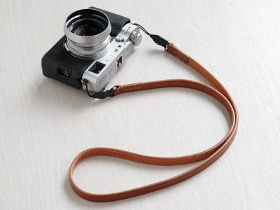 Photo2: Leather Camera Body Suit [for FUJIFILM X100V]
