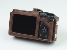 Photo5: Leather Camera Body Suit [for Ricoh GR3] (5)