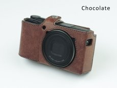 Photo7: Leather Camera Body Suit [for Ricoh GR3] (7)