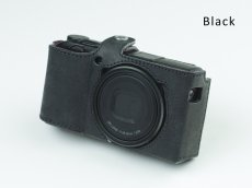 Photo10: Leather Camera Body Suit [for Ricoh GR3] (10)