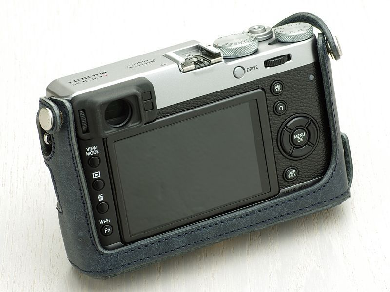 Leather Camera Body Suit [for FUJIFILM X100T/X100S/X100]
