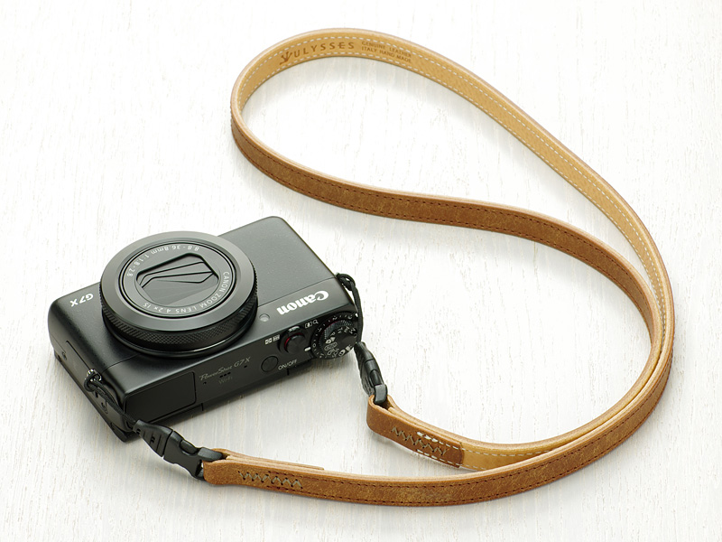 Photo1: Leather Camera Strap [CLASSICO SERPENTE] (1)