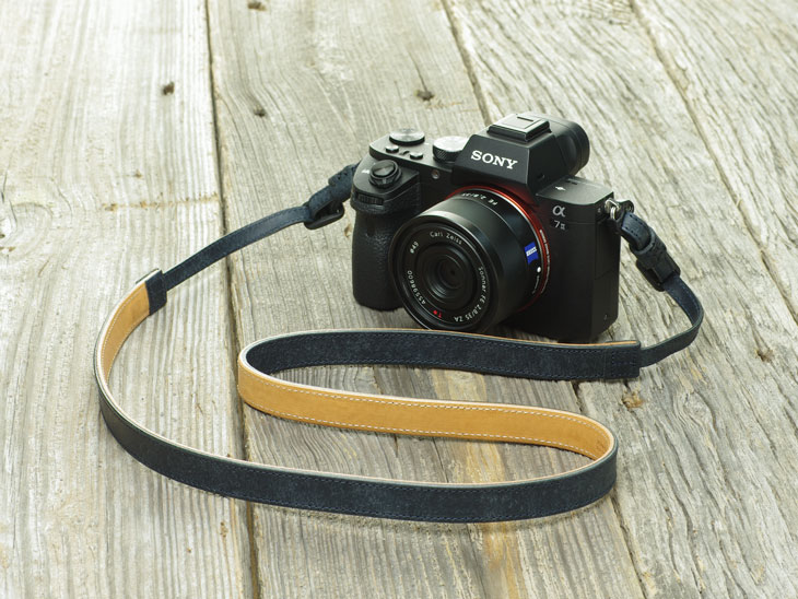 Photo1: Leather Camera Strap [CLASSICO] (1)