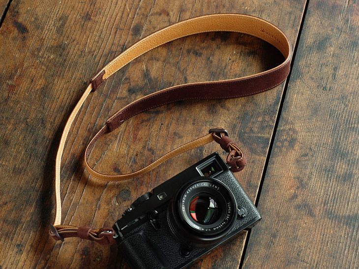 Photo1: Leather Strap [ 70% GRANDE ] (1)